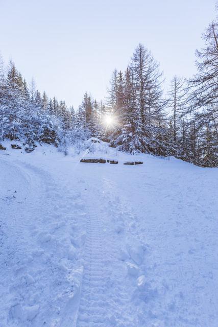 Sainte Foy winter