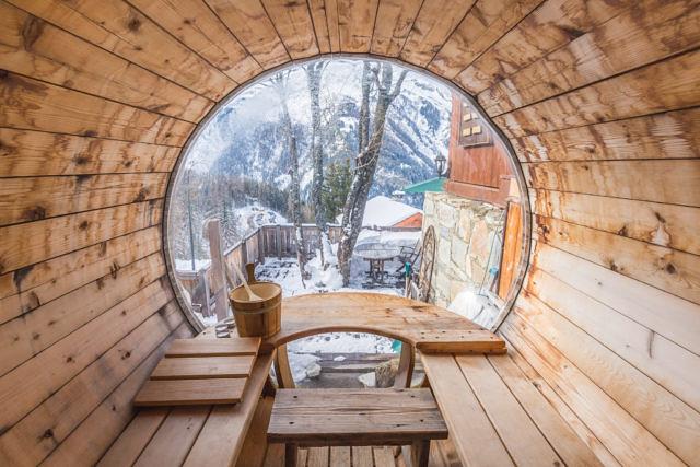 Sainte Foy sauna