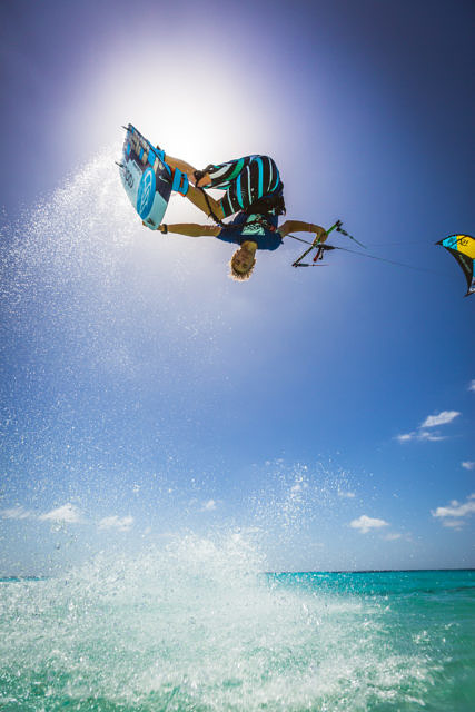 Dylan van der Meij at Atlantis kite beach