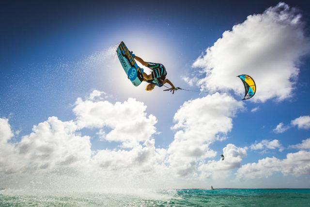 Dylan van der Meij at Atlantis kitebeach