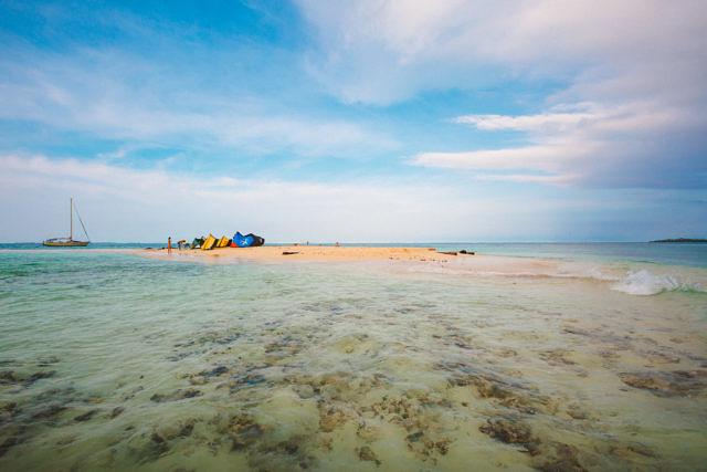 San Blas islands kites