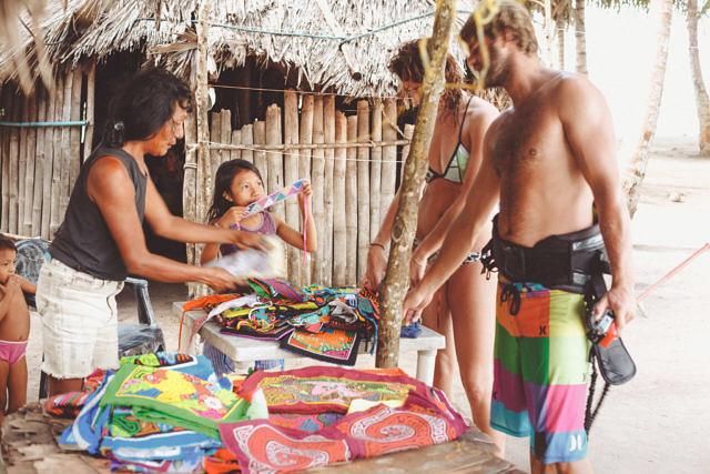 San Blas islands locals