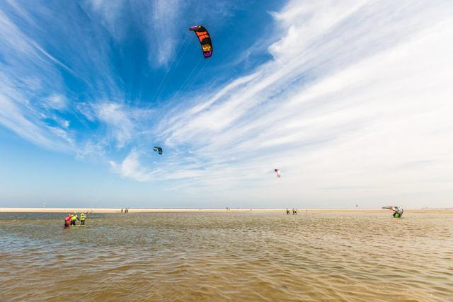 De Zandmotor kitesurfing