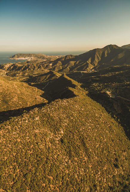 Karpathos mountains