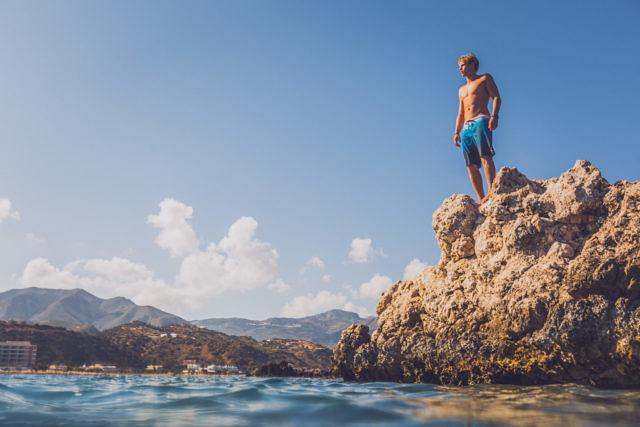 Karpathos sea
