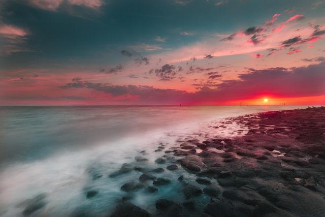 Westkapelle sunset