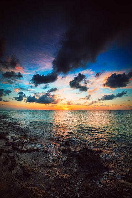 Donkey beach sunset