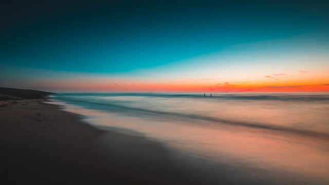 Domburg sunset