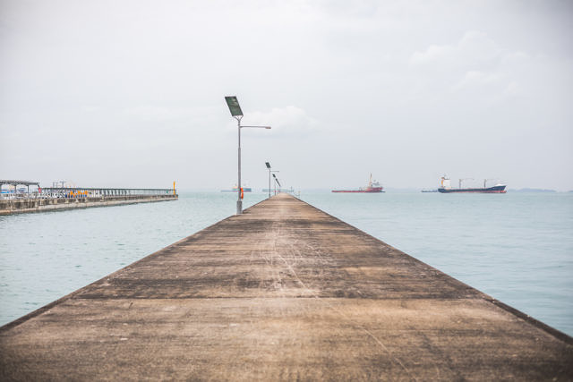 Singapore pier