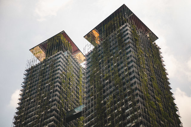 Kuala Lumpur green high rise