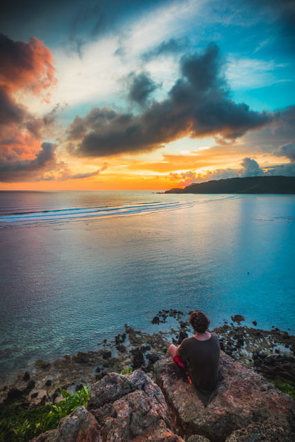 South Lombok sunset