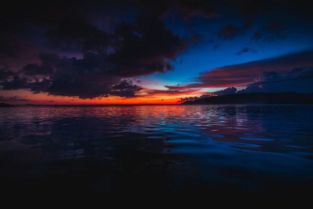 South Lombok sunset