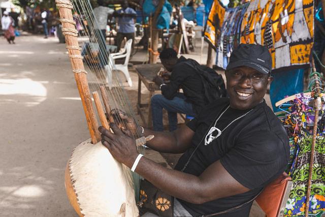 Gambia musician