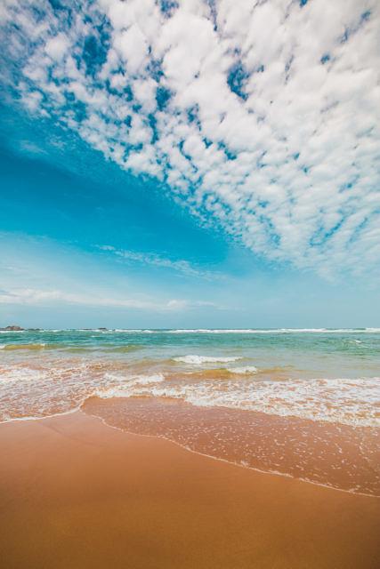 Sri Lanka sea