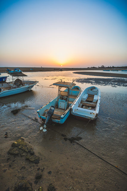 Senegal boats