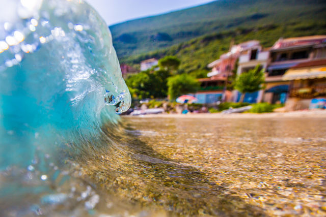 Lefkada small waves