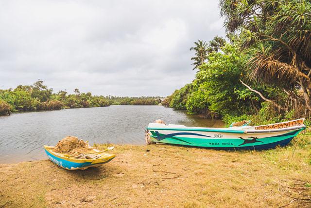 Sri Lanka lagune