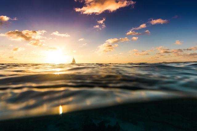 Kralendijk, Bonaire sunset
