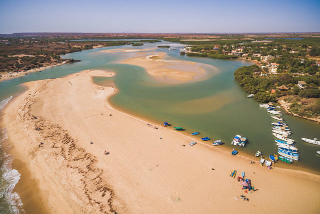 Senegal lagune
