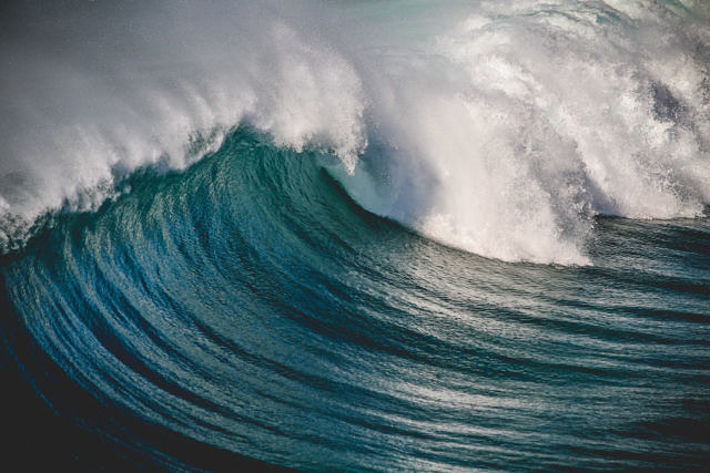 La Pared waves, Fuerteventura