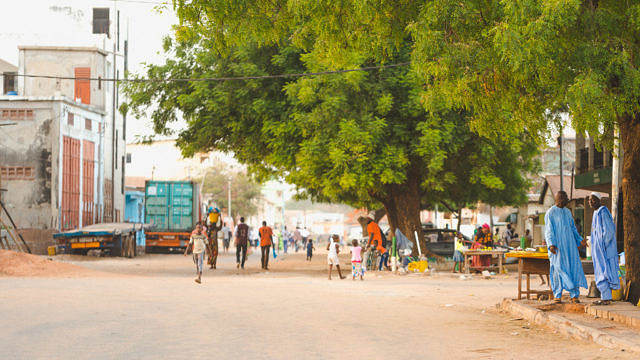 Gambia street life