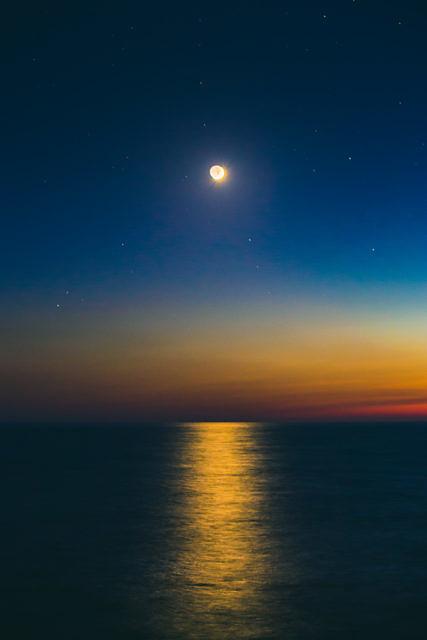 Cyprus full moon