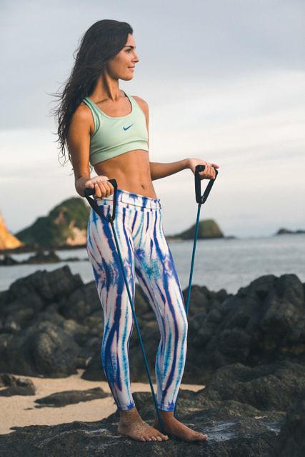 Megan at Lombok