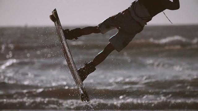 Jan-willem kitesurfing
