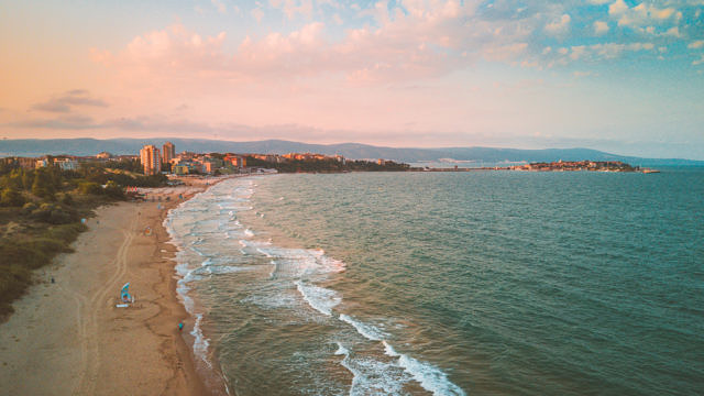 Nessebar sunset beach