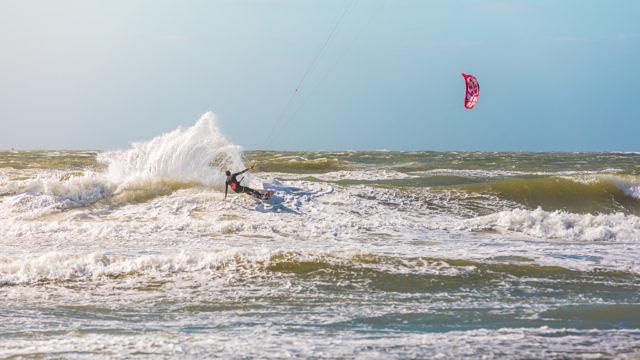 Domburg kitesurfing