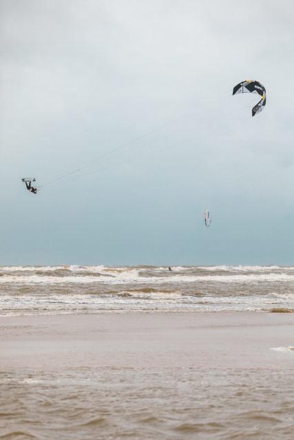 Castricum aan Zee kitesurfing