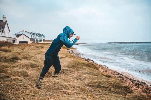 Rhosneigr hurricane Ophelia