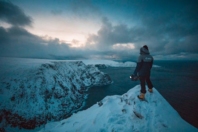 Norway in winter, Nordkapp