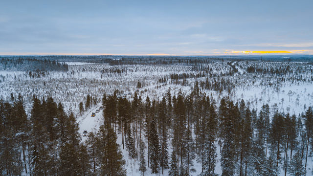 Finland in winter