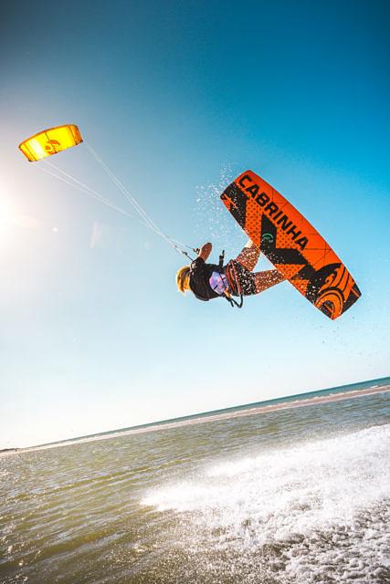 Vera Klabbers Kitesurfing Vrouwenpolder