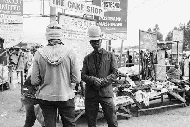 Kenya - Nairobi, local fashion