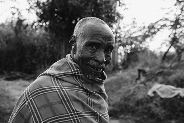Kenya - Lewasso, the local people who run the lodge