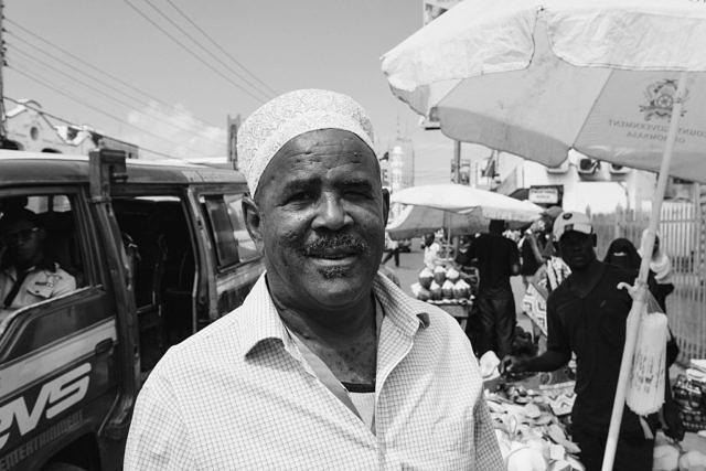 Kenya - Mombasa, the market trader