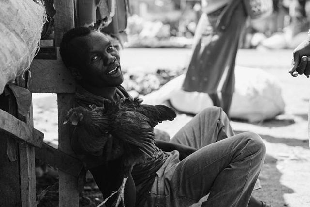 Kenya - Osiolo, the chicken man