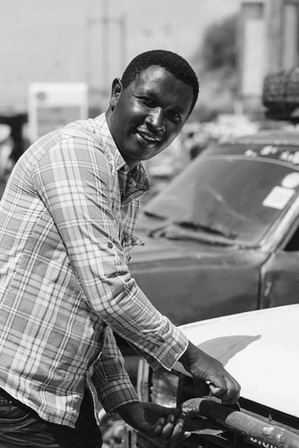 Kenya - Osiolo, the local market
