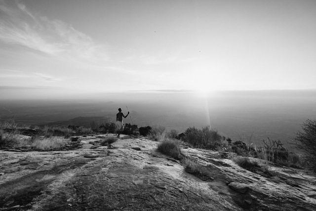 Kenya - Mt Ololokwe, sunrise
