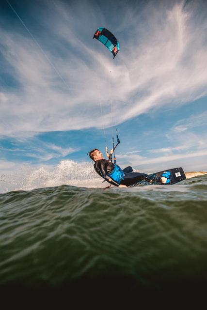 Kitesurfing Neeltje Jans