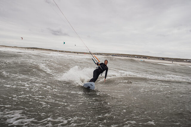 Kite-waveriding Domburg